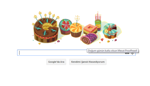 Google böyle kutladı