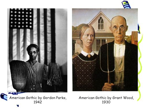 American Gothic by Grant Wood, 1930.